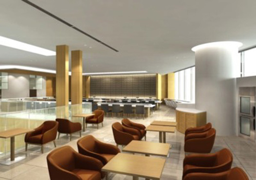 JAL revamps Sakura Lounge for International Flights at Narita Terminal 2