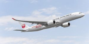 JAL takes delivery of its first Airbus A350 XWB