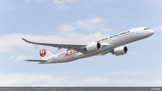 JAL first A350 XWB