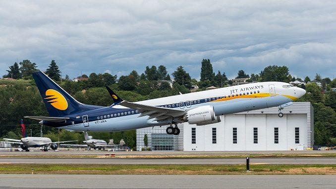 Jet Airways gets its first Boeing 737 MAX