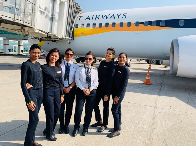 Jet Airways IWD 2019