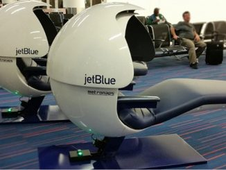 JetBlue installs napping pods for passengers at JFK T5