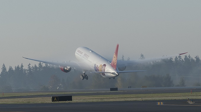 Juneyao Airlines 1st 787-9 Delivery