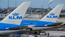 KLM 787 tails