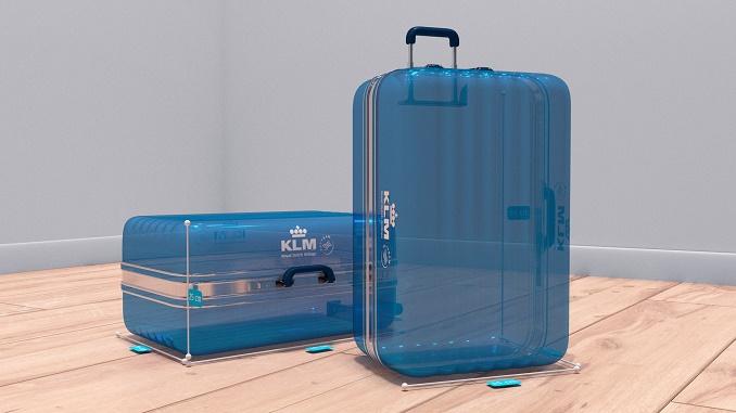KLM AR hand baggage check