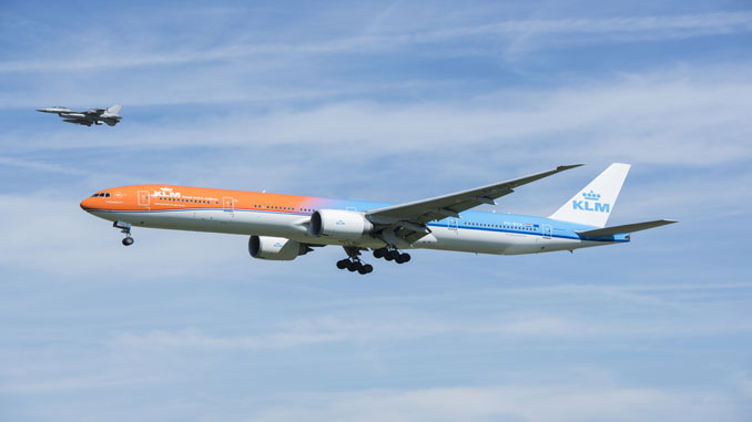 KLM flies Olympians back to Amsterdam