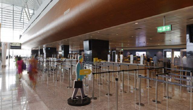Kempegowda Airport check-in desks