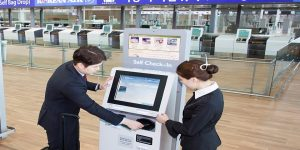All Korean Air domestic passengers must now use self bag drop