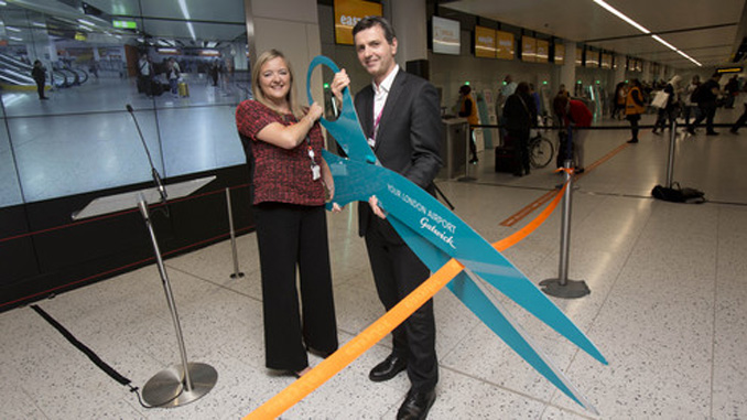 Gatwick opens world's largest self-service bag drop zone