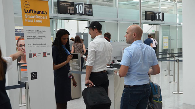 Lufthansa to trial faster boarding at Munich