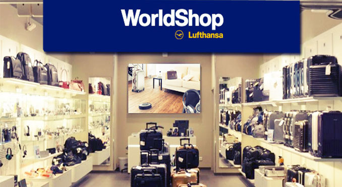 "Lufthansa WorldShop offers ""Preflight Shopping"""