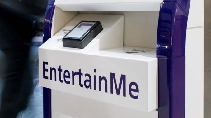 Download movies at Heathrow kiosks
