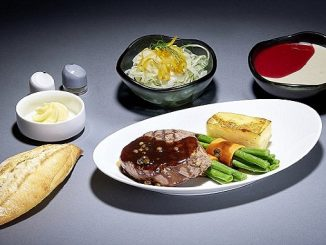 Lufthansa a la carte dining
