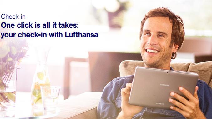 Lufthansa check-in