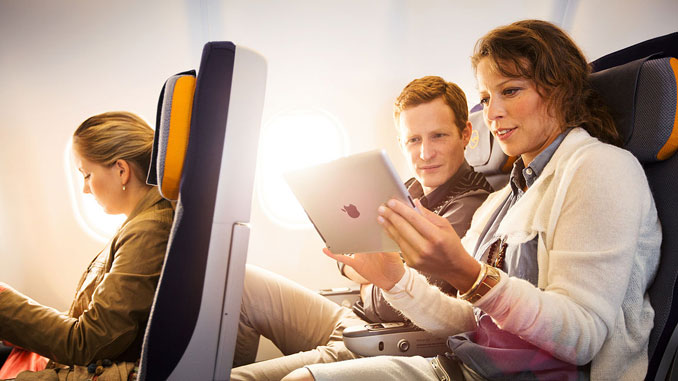 Lufthansa and Austrian to start WiFi on shorthaul