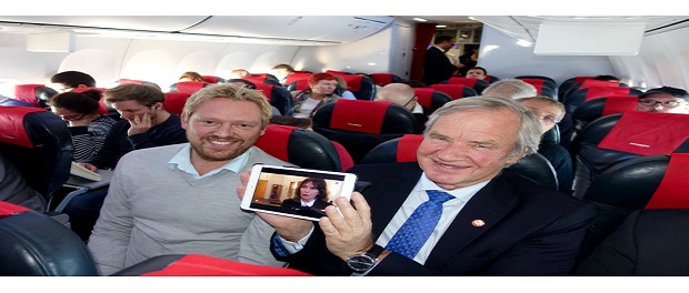Norwegian offers live TV on European flights