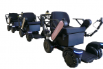 ANA and Panasonic test self-driving wheelchairs at Narita
