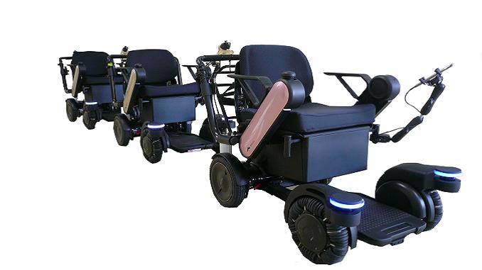 Panasonic self-driving wheelchair