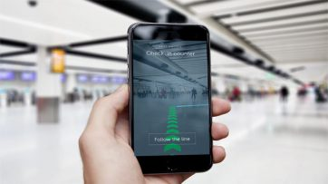 Gatwick uses augmented reality for wayfinding