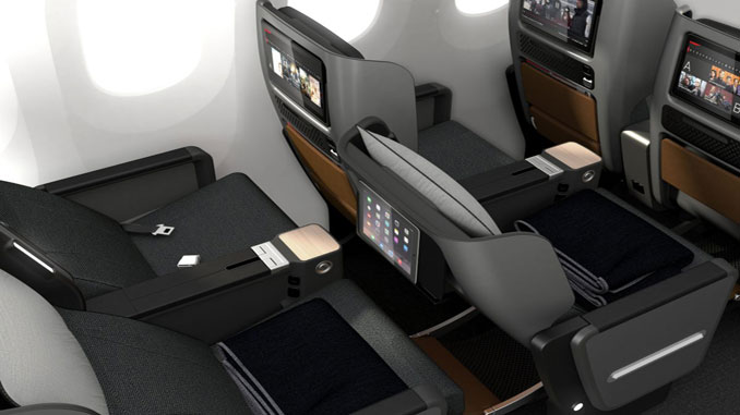 Qantas reveals its new Premium Economy seat