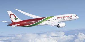 Royal Air Maroc receives its first Boeing 787-9 Dreamliner