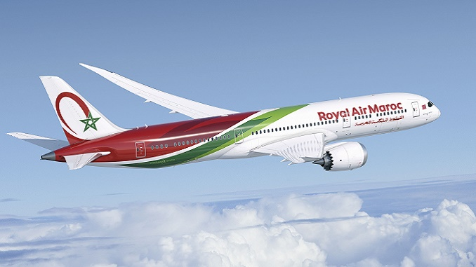 Royal Air Maroc first Boeing 787-9