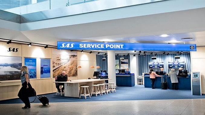 SAS Copenhagen Service Point