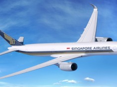 Singapore Airlines' first A350-900 arrives in Singapore