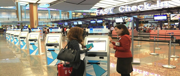 Changi T2 starts self tagging and bag drop at Terminal 2