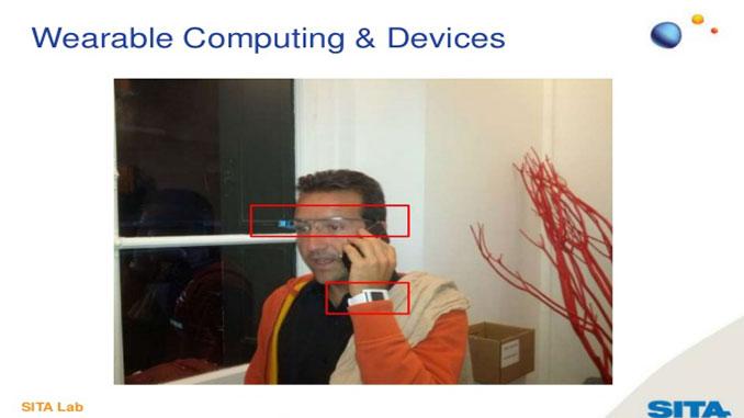 Wearable computing at airports - SITA Lab reports findings