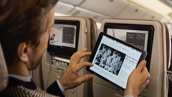 SWISS introduces eJournals