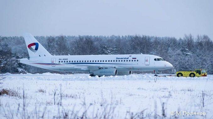 Severstal Sukhoi SSJ100