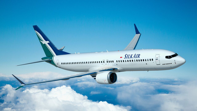SilkAir Boeing 737 MAX 8