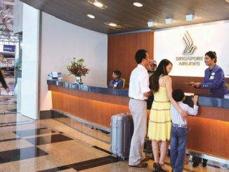 Singapore Airlines passenger service