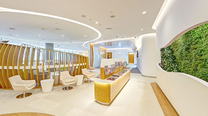 SkyTeam opens new lounge at Dubai