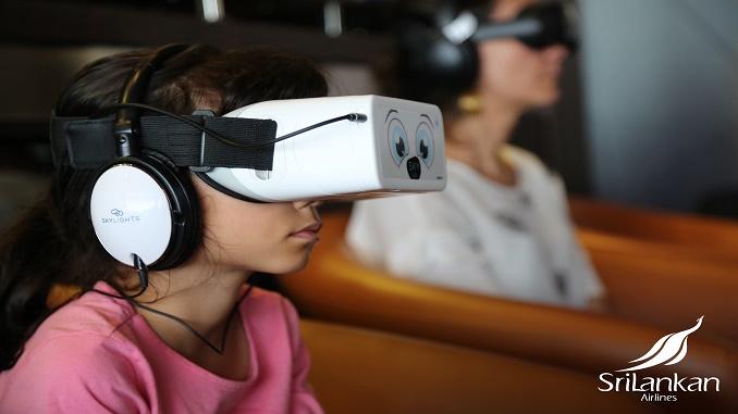 1514c1cfbdfd SriLankan Airlines installs VR cinema in Bandaranaike lounge ...