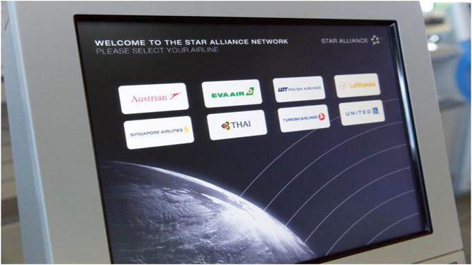 Star Alliance new check-in concept at Narita Terminal 1