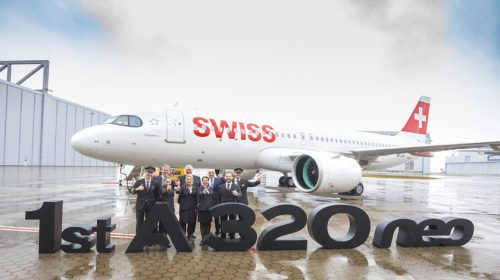 SWISS takes delivery of its first A320neo