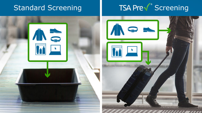 United and TSA to modernise security checkpoints