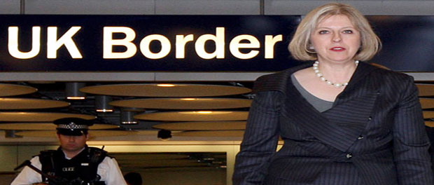 border control eGates open at Heathrow Terminal 5
