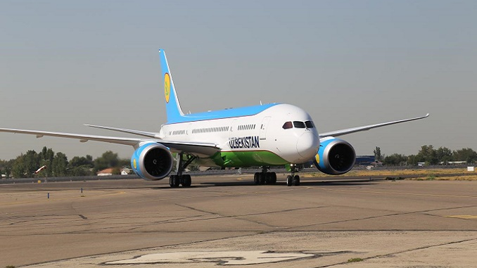 Uzbekistan Boeing 787