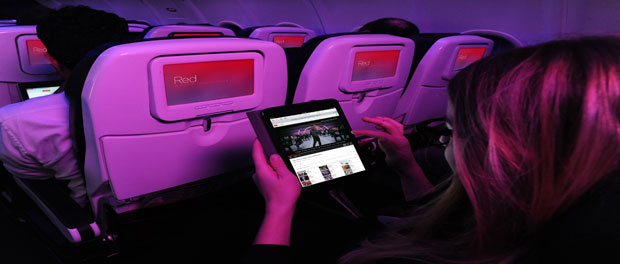 Virgin America partners with Spotify