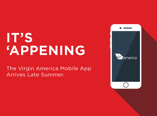 Virgin America to introduce app this summer