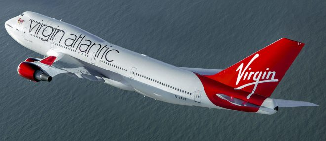 Virgin Atlantic Boeing 747-400