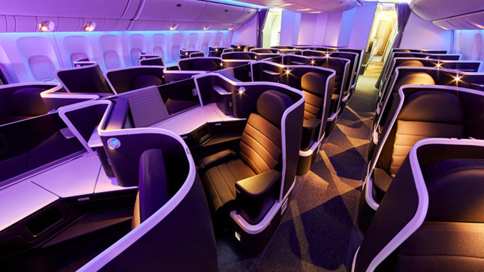 Virgin Australia unveils new international business class