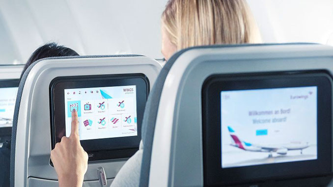 Eurowings passengers can now enjoy IFE using own devices