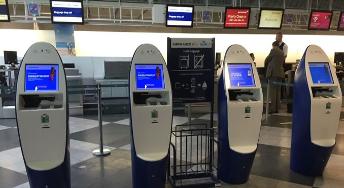 Air France-KLM rolls out 765 new SITA kiosks