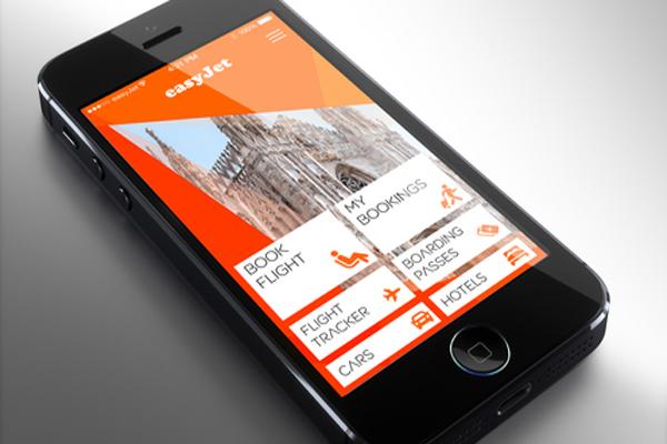 easyJet new iPhone app