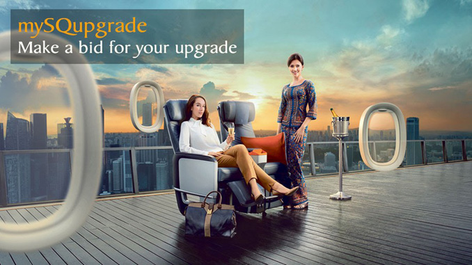 Singapore Airlines launches bid to upgrade