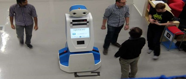 Spencer the robot to help wayfinding at Schiphol